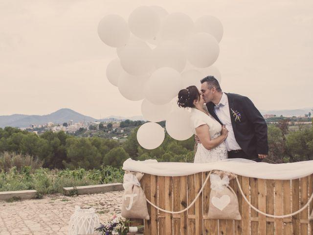 La boda de Cristina y Txema