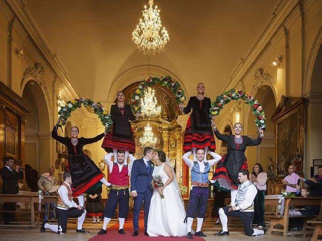 La boda de Miguel y Noelia en San Ildefonso O La Granja, Segovia 1