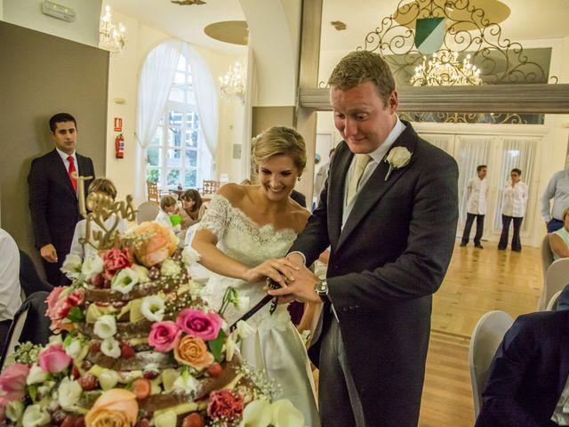 La boda de Lucía y Tom