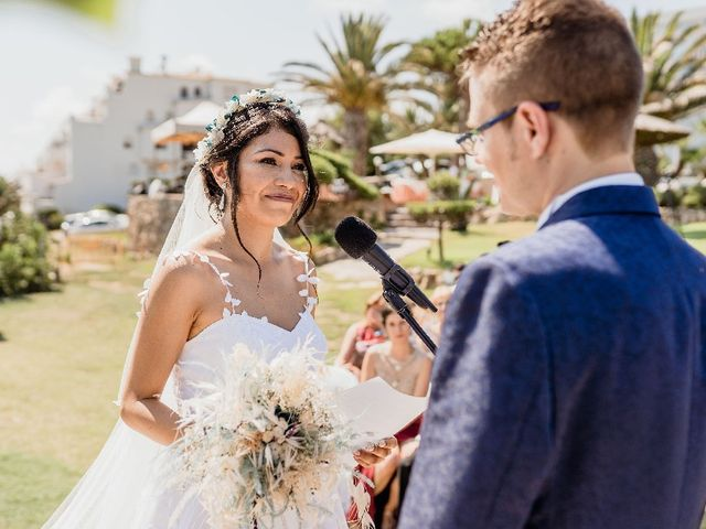 La boda de Miguel  y Abigail  en Vilanova I La Geltru, Barcelona 1