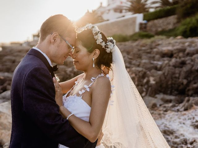 La boda de Miguel  y Abigail  en Vilanova I La Geltru, Barcelona 2