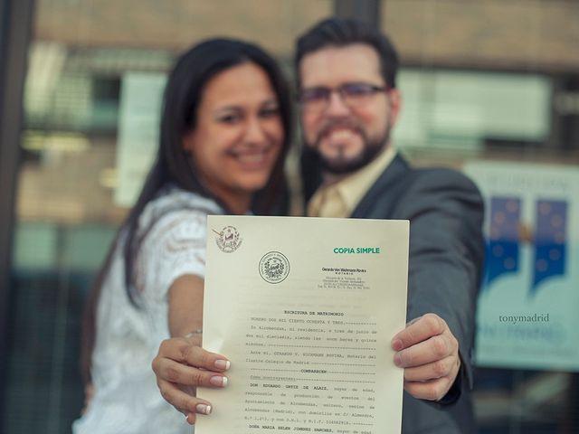 La boda de Eduardo y Belén en Galapagar, Madrid 1