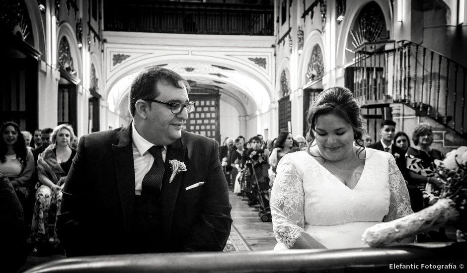 La boda de Mikel y Verónica en Hervas, Cáceres