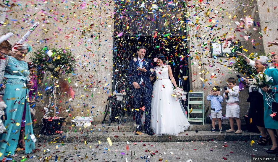 La boda de Miguel y Rocío en Arzua, A Coruña
