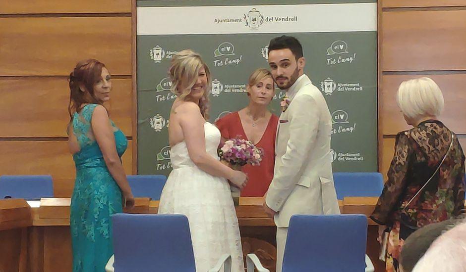 La boda de Dani y María en El Vendrell, Tarragona