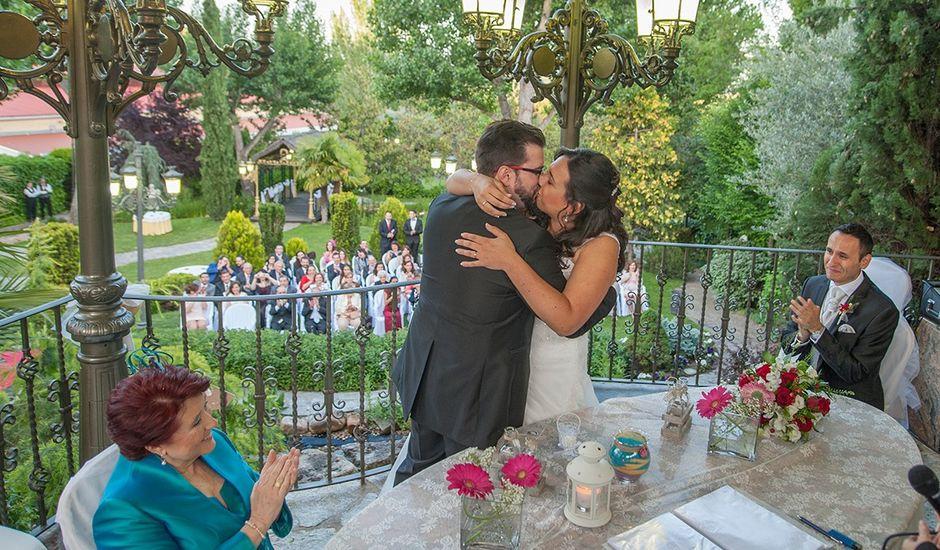 La boda de Eduardo y Belén en Galapagar, Madrid