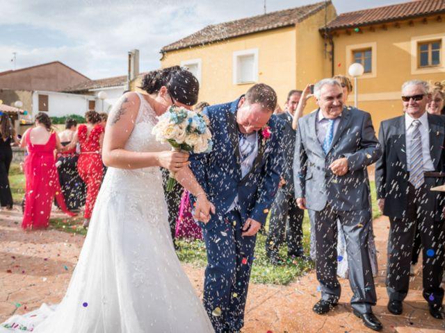 La boda de Oscar y Soraya en Melgar De Fernamental, Burgos 3