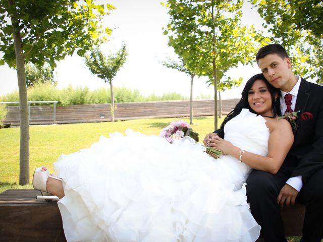 La boda de Abel y Estefania
