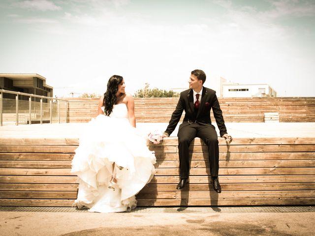 La boda de Estefania y Abel en Gava, Barcelona 2