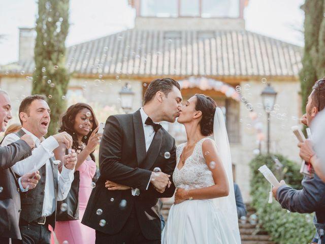 La boda de Alessia y Cristian