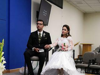 La boda de Heikel  y Silvia Carolina  1