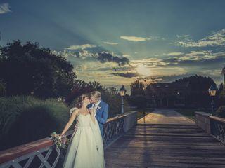 La boda de Max y Dina