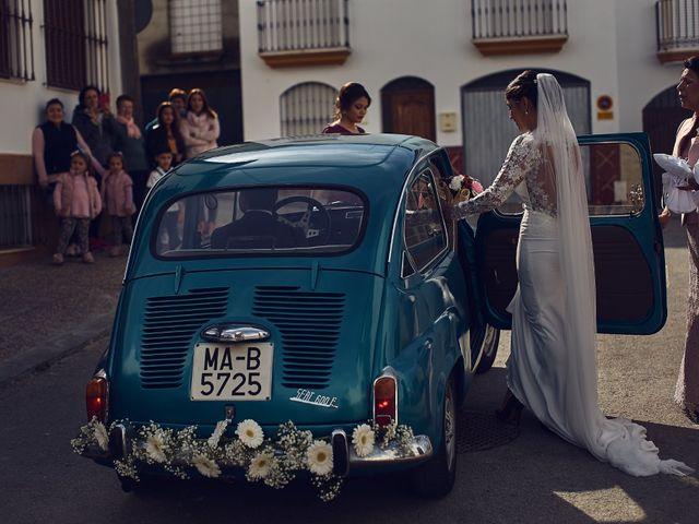 La boda de Fran y Cristina en Olvera, Cádiz 10
