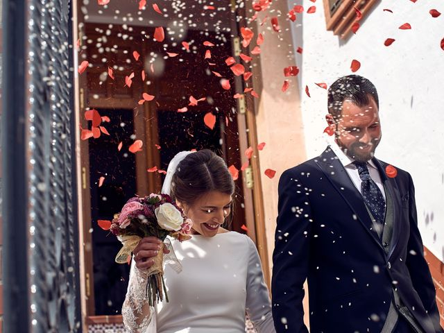 La boda de Fran y Cristina en Olvera, Cádiz 20