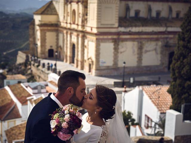 La boda de Fran y Cristina en Olvera, Cádiz 32