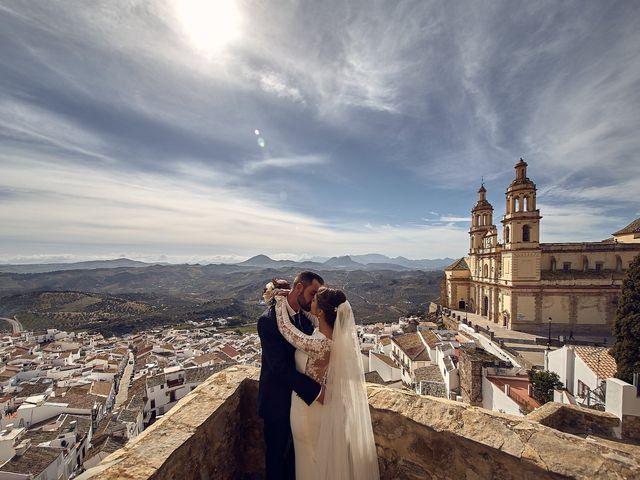 La boda de Fran y Cristina en Olvera, Cádiz 34