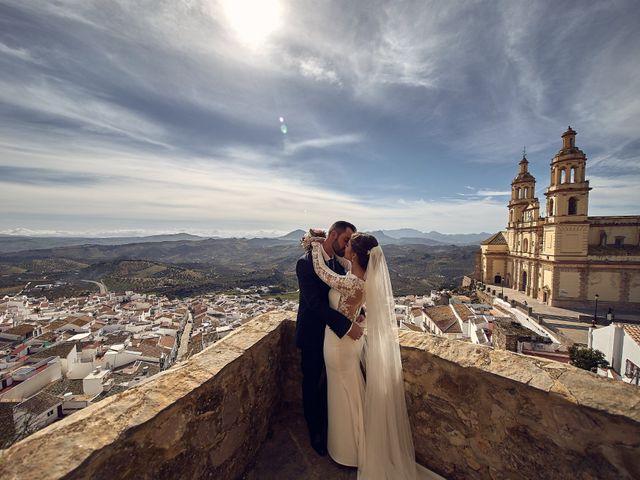 La boda de Fran y Cristina en Olvera, Cádiz 35