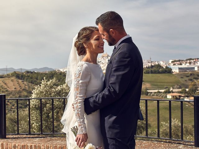 La boda de Fran y Cristina en Olvera, Cádiz 41