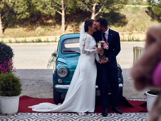 La boda de Fran y Cristina en Olvera, Cádiz 42