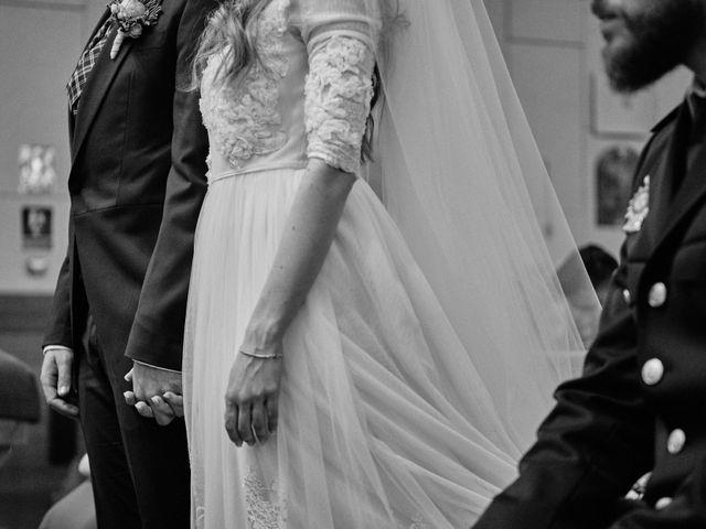 La boda de Cristian y Alicia en Villanueva De La Cañada, Madrid 33