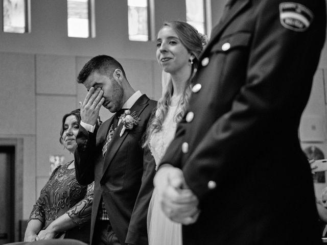 La boda de Cristian y Alicia en Villanueva De La Cañada, Madrid 36