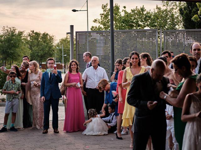 La boda de Cristian y Alicia en Villanueva De La Cañada, Madrid 37