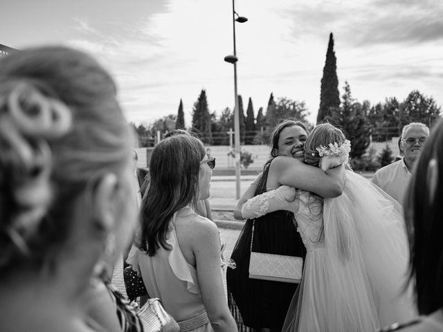La boda de Cristian y Alicia en Villanueva De La Cañada, Madrid 40