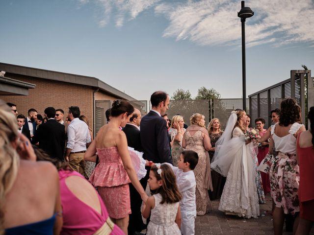 La boda de Cristian y Alicia en Villanueva De La Cañada, Madrid 41