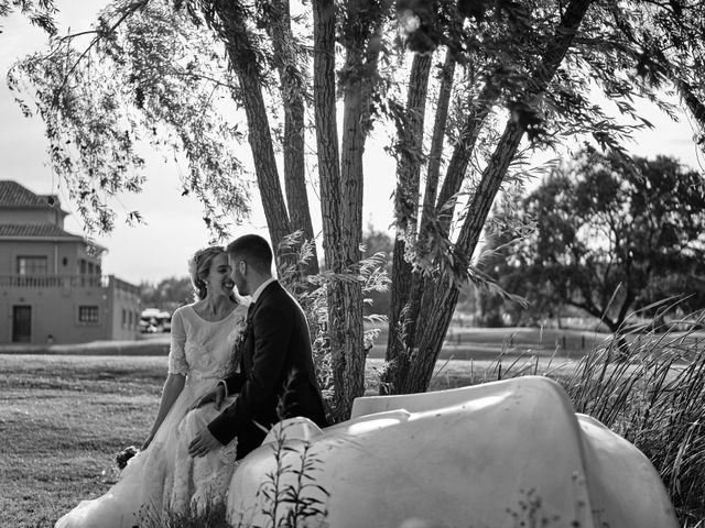 La boda de Cristian y Alicia en Villanueva De La Cañada, Madrid 48