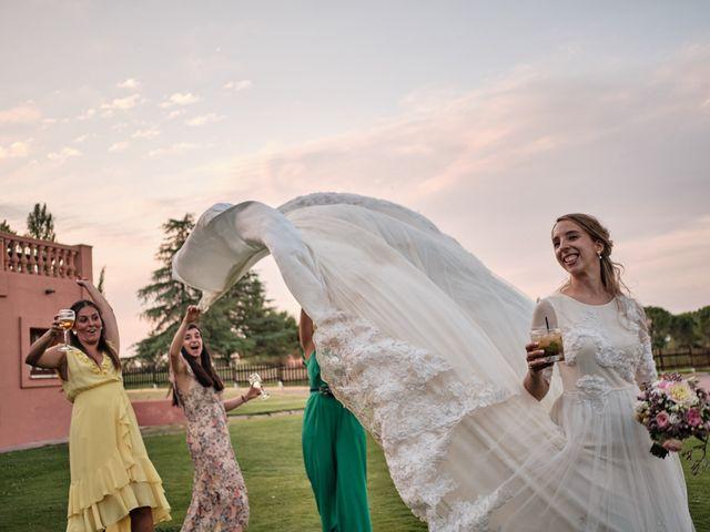 La boda de Cristian y Alicia en Villanueva De La Cañada, Madrid 52