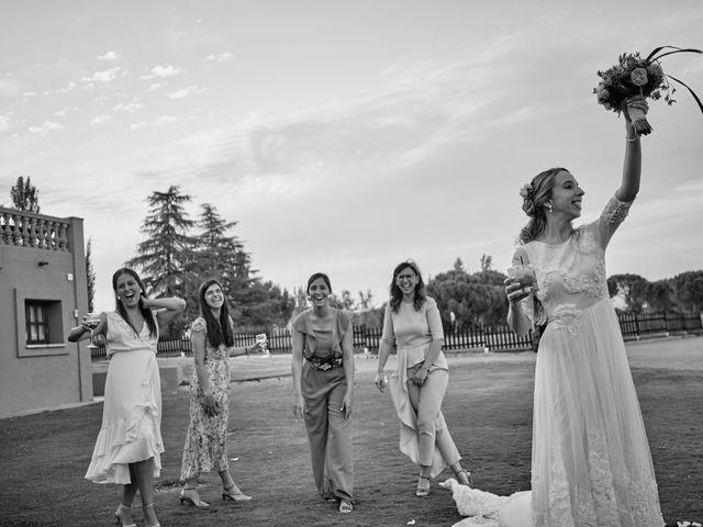 La boda de Cristian y Alicia en Villanueva De La Cañada, Madrid 53