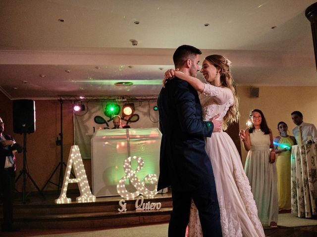 La boda de Cristian y Alicia en Villanueva De La Cañada, Madrid 60