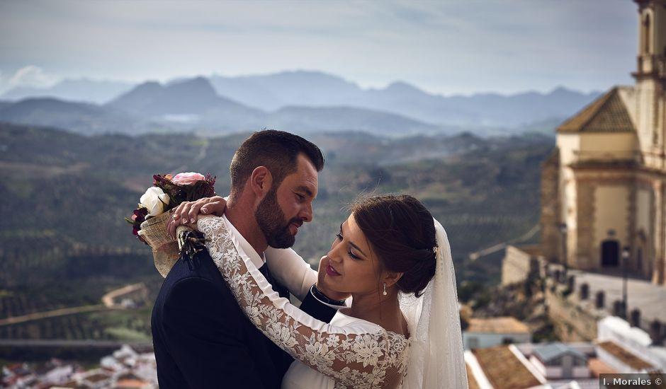 La boda de Fran y Cristina en Olvera, Cádiz