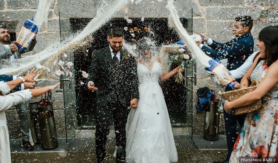 La boda de Adri y Eri en Laias, Orense