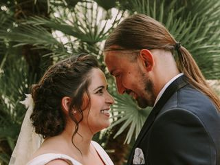 La boda de Sarai y Juanje