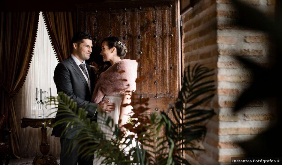 La boda de Adrián y Iciar en Loeches, Madrid