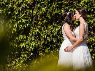 La boda de Mónica y Yaiza
