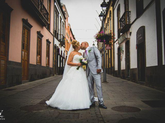 La boda de Iván Yeray y Nereida en Arucas, Las Palmas 8
