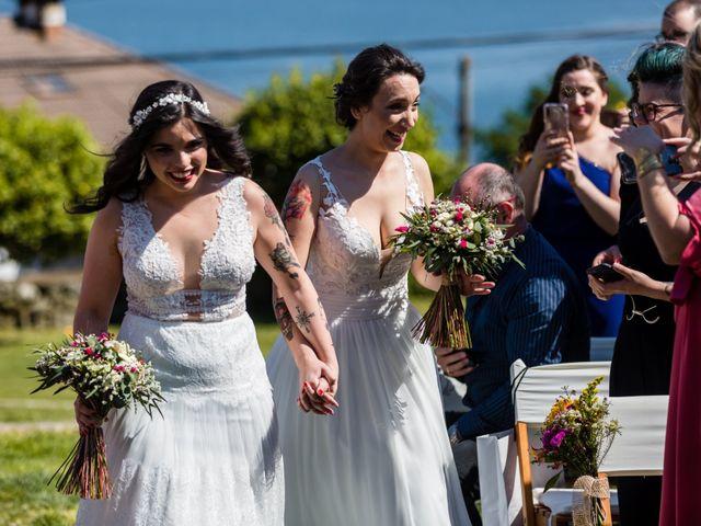La boda de Yaiza y Mónica en Pontevedra, Pontevedra 36
