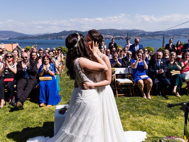 La boda de Yaiza y Mónica en Pontevedra, Pontevedra 46