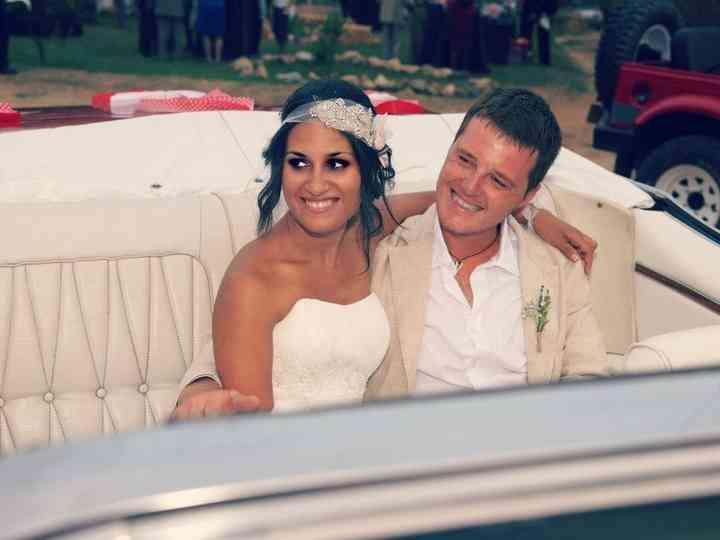 La boda de Conrad y Noemí