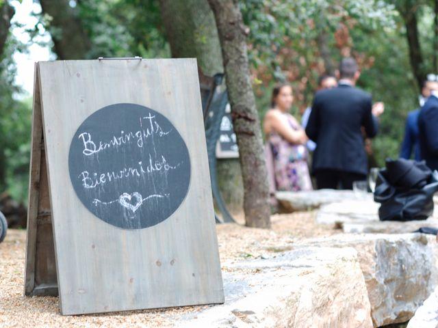La boda de Dani y Carmen en Caldes De Montbui, Barcelona 2