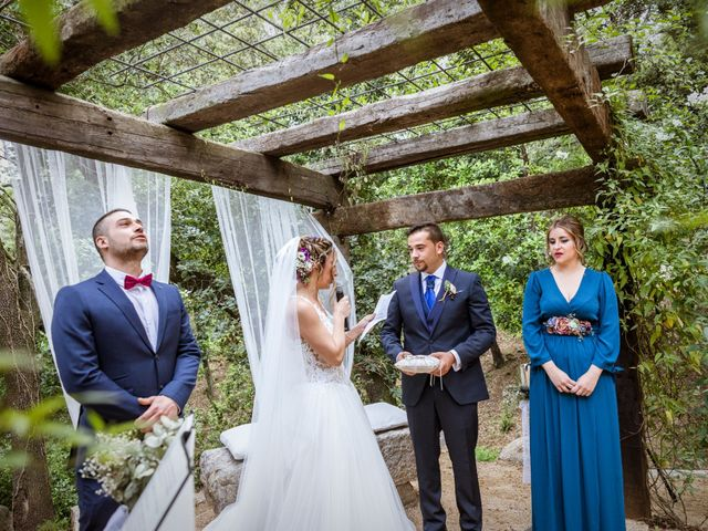 La boda de Dani y Carmen en Caldes De Montbui, Barcelona 34