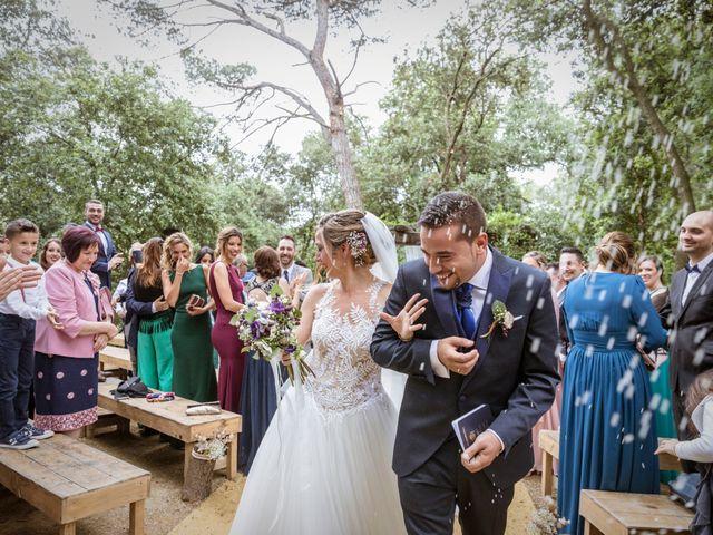 La boda de Dani y Carmen en Caldes De Montbui, Barcelona 46