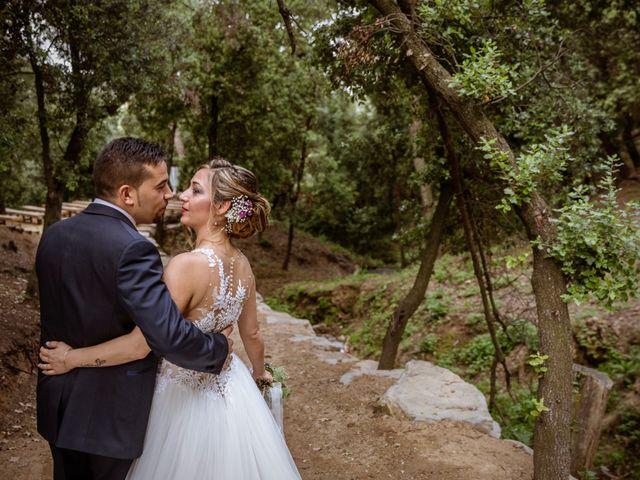 La boda de Dani y Carmen en Caldes De Montbui, Barcelona 56