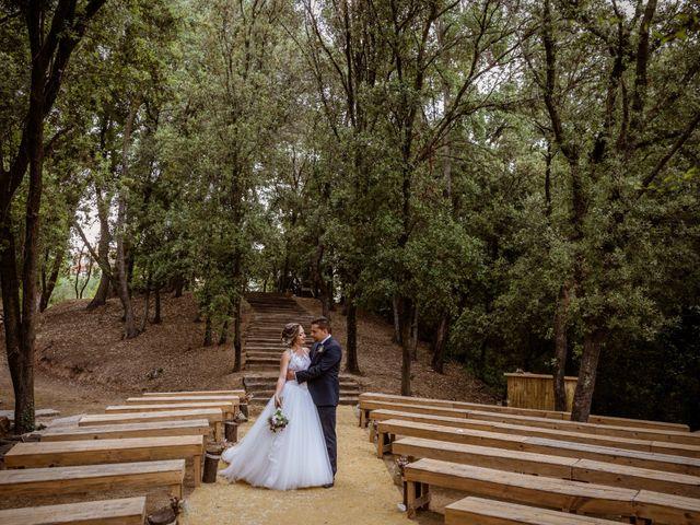 La boda de Dani y Carmen en Caldes De Montbui, Barcelona 57