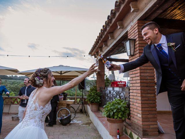 La boda de Dani y Carmen en Caldes De Montbui, Barcelona 86