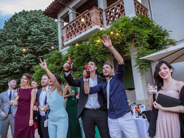 La boda de Dani y Carmen en Caldes De Montbui, Barcelona 87