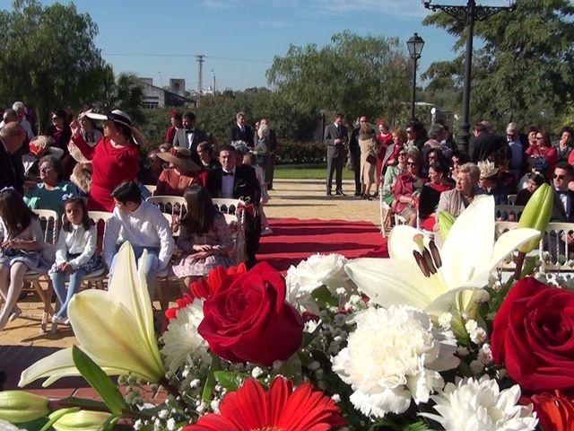 La boda de Antonio Manuel y Vanesa en El Garrobo, Sevilla 19