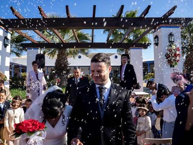 La boda de Antonio Manuel y Vanesa en El Garrobo, Sevilla 47